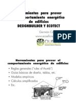 Design Builder y Ecotect