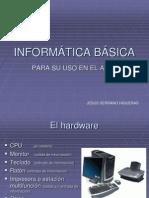 Informática básica para su uso en el aula