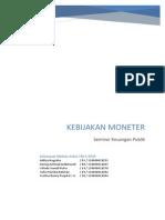 Paper SKP Kebijakan Moneter Draft Jurnal