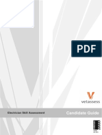 Electrician Practical Skills Assessment Candidate Guide