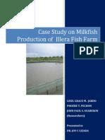 Case Study on Milkfish Production of Illera Fish Farm