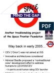 Mind the Space Gap - Space Access Presentation