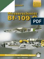 Mushroom - Yellow Series. #6101. Messerschmitt Bf-109 G