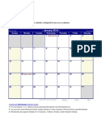 Excel 2014 Calendar With Holidays