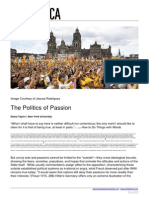 The Politics of Passion Diana Taylor | New York University