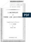 Lenin (Ed. Thomas Bell)-A Dictionary of Terms and Quotations Compiled From the Works of v i Lenin_cropped