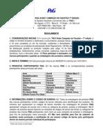 Regulamento DA P& G