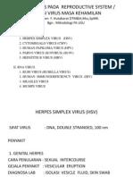 Infeksi Virus Pada Reproductive System llalalalla