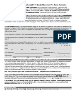 BOG Fee Waiver Application PDF