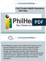 Philhealth and the Private Health Insurance Part One