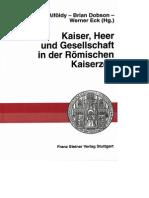 Alfoldy, Dobson, Eck - Kaiser, Heer Und Gesellschaft
