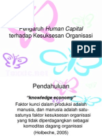 Human Capital vs Ke Suk Se San Org