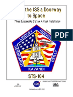 NASA Space Shuttle STS-104 Press Kit