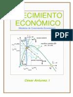 ANTUNEZ,C. Modelos de Crecimiento Economico. Dic09