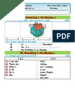 Model examination  primary 3.doc