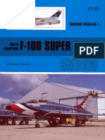 Warpaint Series. #004. North American F-100 Super Sabre