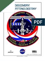 NASA Space Shuttle STS-102 Press Kit