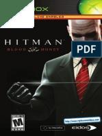 Hitman - Blood Money - Manual - XBX
