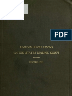 (1912, Revised 1917) U.S.M.C. Uniform Regulations