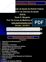 Bioestatistica Residencia 2012