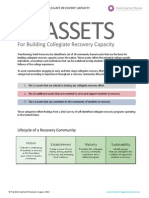 38 Assets for Building Collegiate Recovery Capacity (Rev.8-28-13)