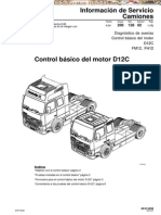 Manual Control Basico Motor Camion d12c Volvo