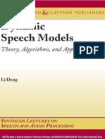 17-Dynamic Speech Models