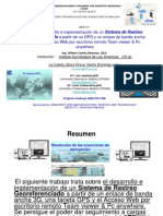 Sistema rastreo 2 3G-Mescyt 2010 Camilo-Itla.ppt