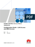 Configuration Guide - LAN Access and MAN Access(V600R003C00_01)