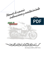 Manual Sanglas 400 F