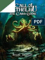 Call of Cthulhu Card Game Rules
