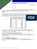 Uso de Excel para Predicción