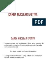 Carga Nuclear Efetiva