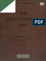 The Quintessential Elf