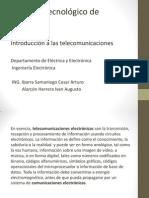 1 Intgroduccion a Las Telecomunicaciones