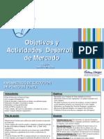 Objetivos y Actividades Desarrollo de Mercado