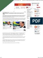 Aécio Boladasso é escrachado nas redes, mas tem apoio de O Globo - Portal Vermelho