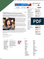 Perpétua critica decisão da Abin contra espião brasileiro  - Portal Vermelho