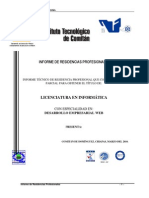 """Informe Técnico de Residencias Profesionalde la biblioteca pública """"JOSEFA ORTIZ DE DOMÍNGUEZ"""" de la  Independencia, Chiapas"""