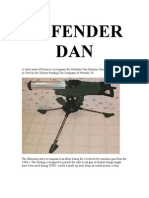 Defender Dan Machine Gun Toy