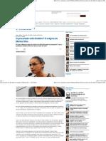 O precariado está dividido_ O enigma de Marina Silva - Carta Maior