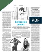 erotización juventud