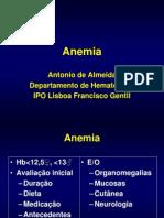 Anemia e Neoplasias Mieloproliferativas