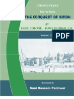 """Commentary on the book """"Conquest of Sindh"""" Volume - II"""