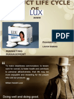 Product Life Cycle of Lux