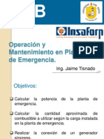 Cap 3 Componentes de La Planta de Emergencia