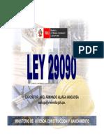 LeyRegulacion_Ley29090