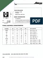2N4303 Data Sheets
