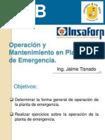 Cap 4 Operación de la planta de emergencia