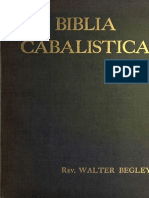Biblia Cabalistica. W Begley 1903